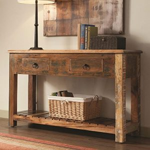 Good 1PerfectChoice India Antique Accent Cabinet Console Sofa Table Rustic  Reclaimed Wood Mix Teak