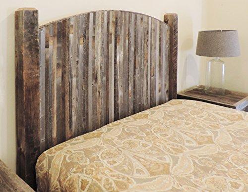 Farmhouse Style Arched Twin Bed Barn Wood Headboard W
