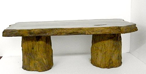 Handmade Fossilized Bench Concrete Table, CF-302 Petrified