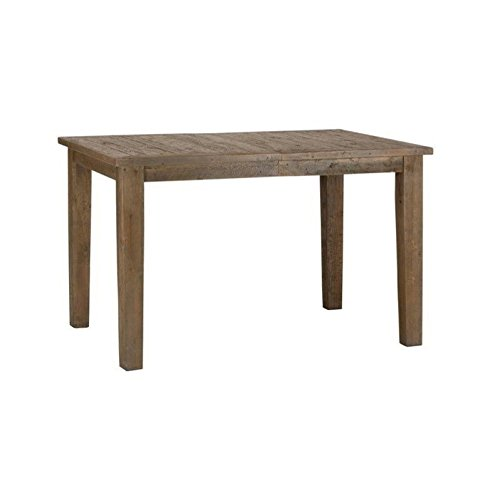 Jofran Slater Mill Pine Wood Counter Height Dining Table In Brown Driftwood Furnitures
