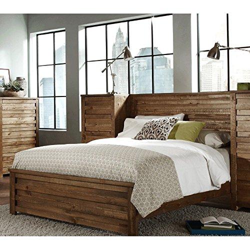 Progressive Furniture Melrose Panel Bed Driftwood Furnitures