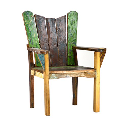 Reclaimed Boat Wood Chair Driftwood Furnitures