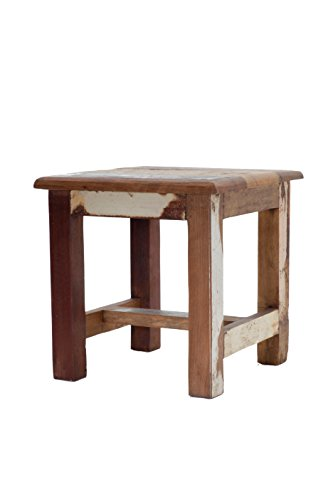 Reclaimed Wooden Step Stool - Wooden Stool - 100% Reclaimed Wood - Wooden  Sitting Stool - Wood Step Stool - Stool for Kids - Kitchen Stool
