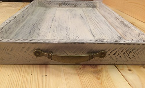 Rustic Serving Tray Tea Tray Decorative Serving Trays