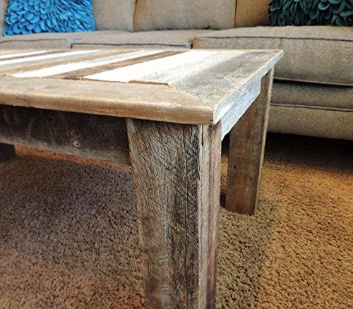 24 X 48 18 Bretton Style Reclaimed Wood Rustic Barnwood Coffee Table