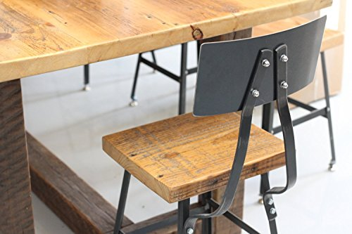 Bar Stool Counter Handmade Reclaimed Wood
