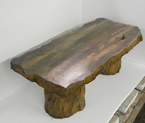 Charming Handmade Fossilized Bench Concrete Table ... Gallery