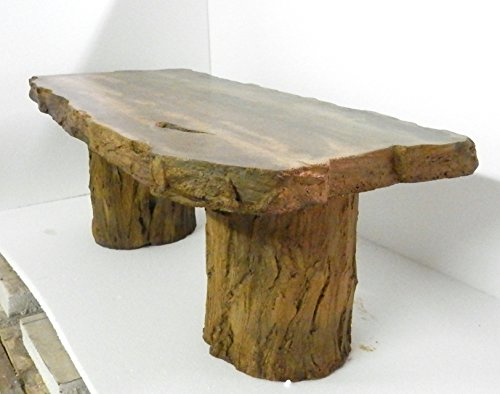 Handmade Fossilized Bench Concrete Table Cf 302 Petrified