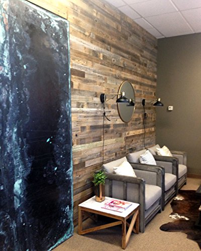 Reclaimed Barn Wood Wall Panel Easy Peel And Stick