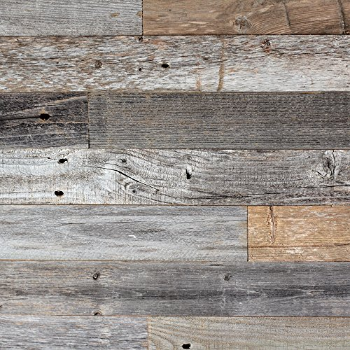 Reclaimed Barn Wood Wall ...