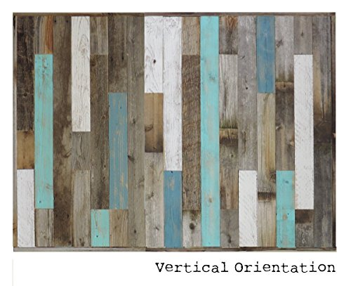 Reclaimed Wood Headboard Panel For King Bed Made Recycled Rustic Barn