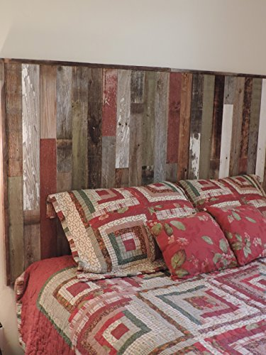 Barnwood Headboard Wall